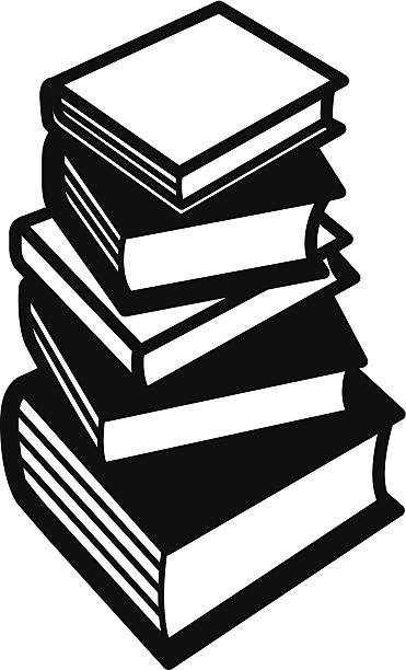 Stack Of Books Icon Vector Art Illustration