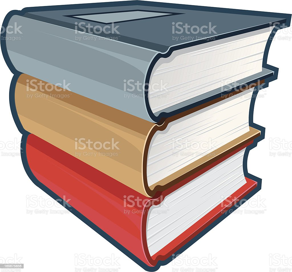 stack of books royalty-free stack of books stock vector art & more images of backgrounds