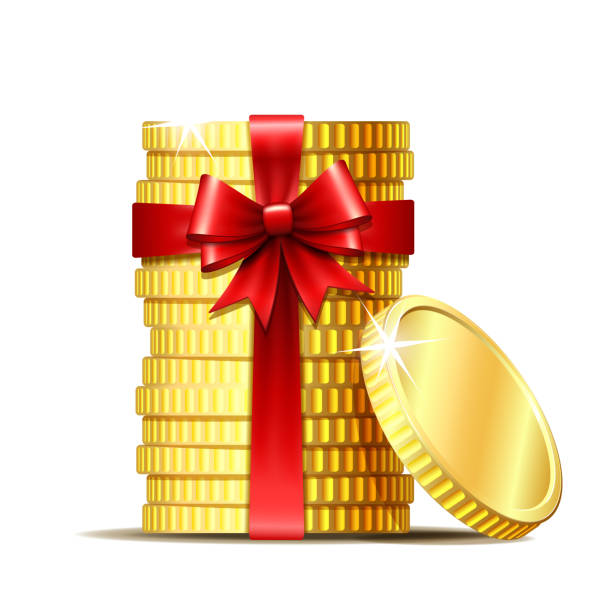 Top 60 Christmas Money Clip Art, Vector Graphics and ...