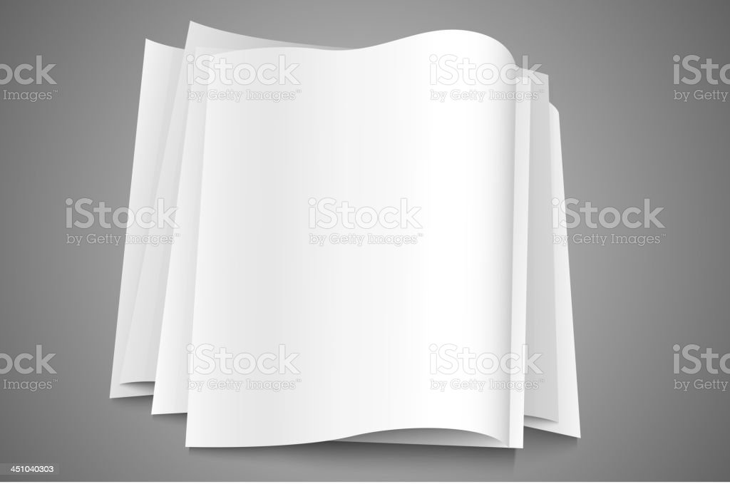 stack of paper royalty-free stack of paper stock vector art & more images of application form