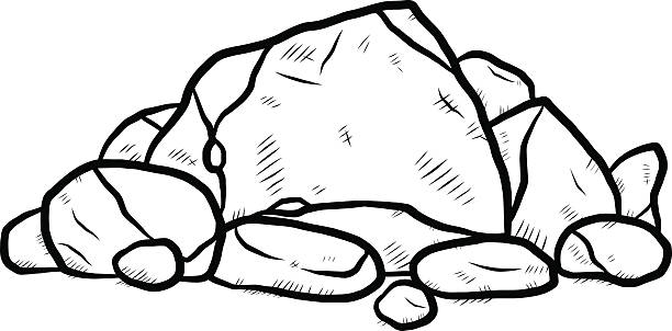 Best Pile Of Rocks Illustrations, Royalty-Free Vector ...