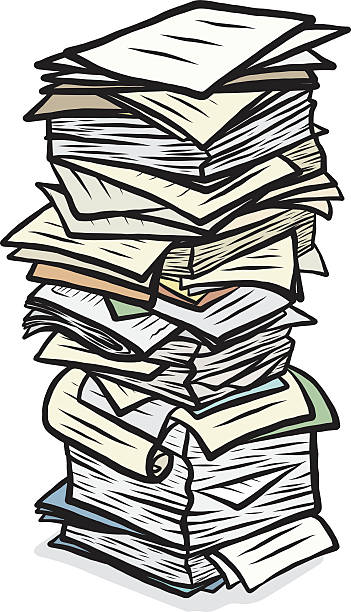 Best Stack Of Papers Illustrations, Royalty-Free Vector ...