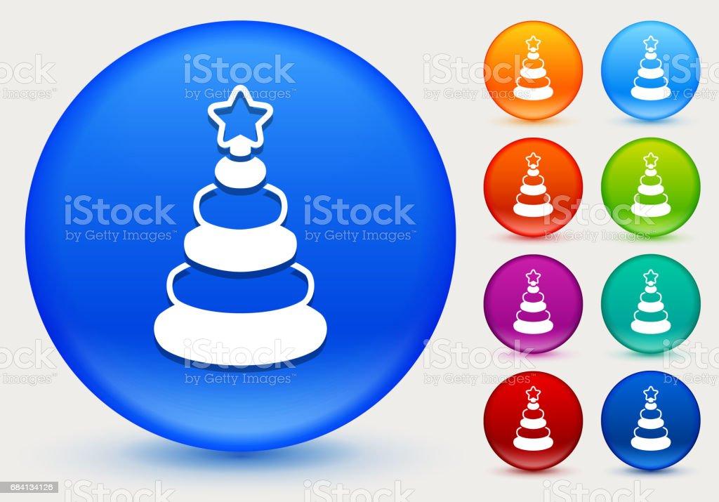 光沢のあるカラー サークル ボタンのスタッカー グッズ アイコン ロイヤリティフリー光沢のあるカラー サークル ボタンのスタッカー グッズ アイコン - おもちゃのベクターアート素材や画像を多数ご用意