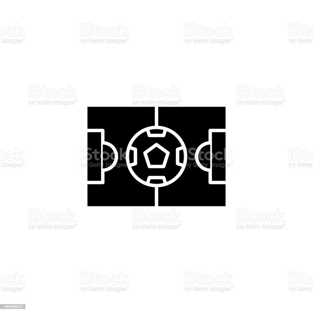 Stadium black icon concept. Stadium flat  vector symbol, sign, illustration. royalty-free stadium black icon concept stadium flat vector symbol sign illustration stock vector art & more images of architecture