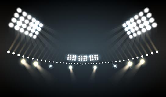 stadium lights realistic
