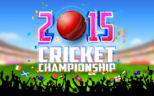 ilustraciones, imágenes clip art, dibujos animados e iconos de stock de estadio de críquet - críquet