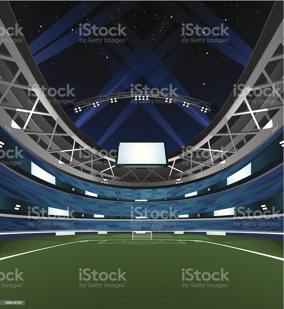 Stadium vector art illustration