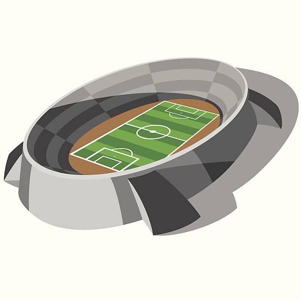 スタジアム - グランドオープン点のイラスト素材/クリップアート素材/マンガ素材/アイコン素材