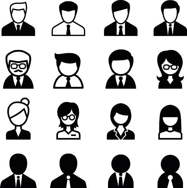 ilustrações, clipart, desenhos animados e ícones de ícone de equipe - ceo