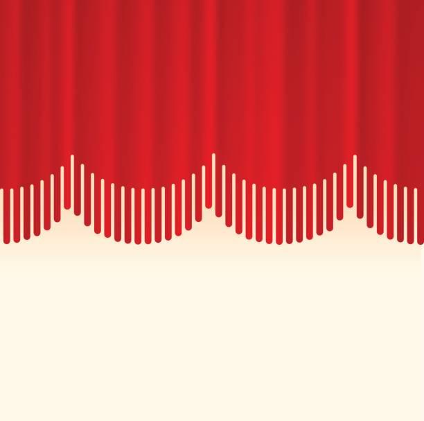 段階のカーテンの国境の概念 - ステージのイラスト点のイラスト素材/クリップアート素材/マンガ素材/アイコン素材