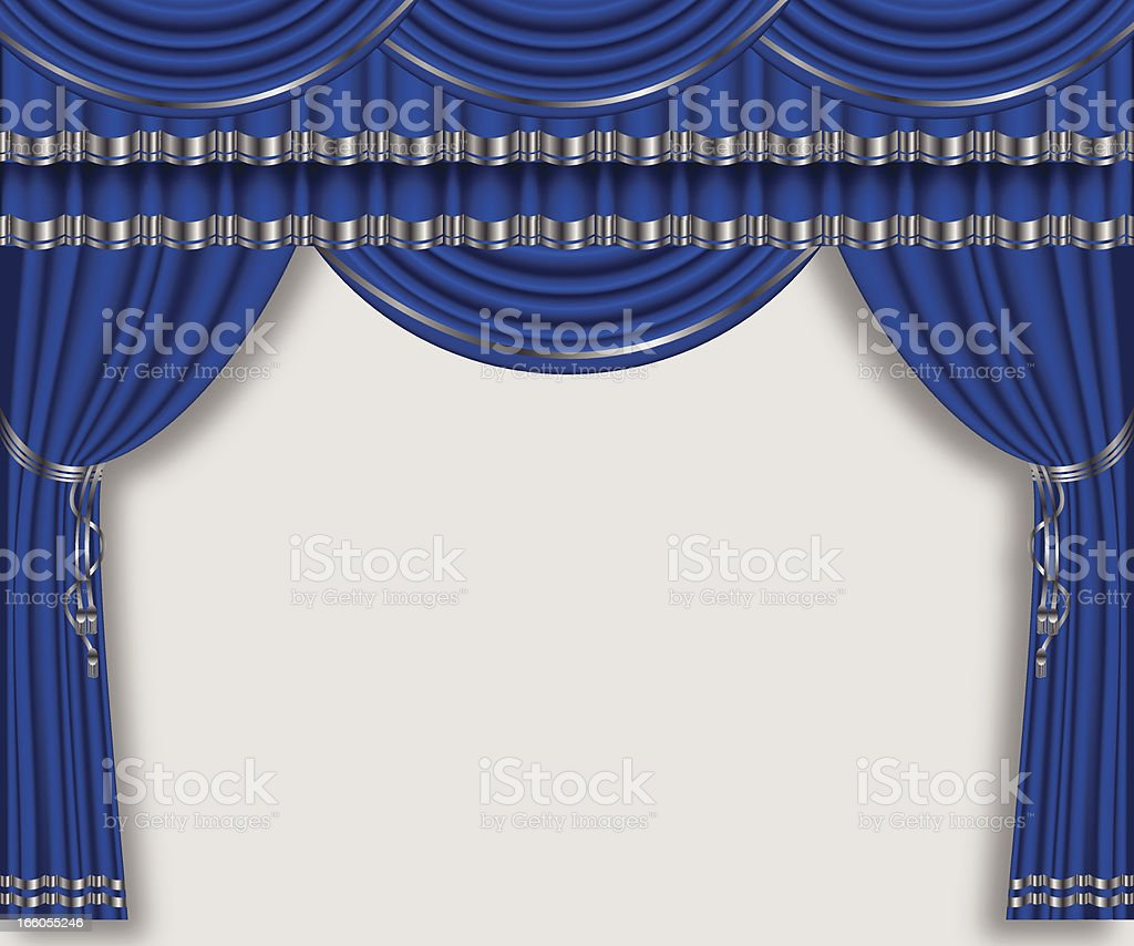 Stage Curtain royalty-free stage curtain stock vector art & more images of arts culture and entertainment