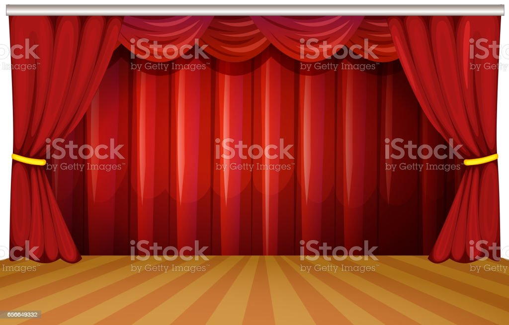 royalty free school play stage clip art vector images rh istockphoto com stage clip - colchester stage clips on microscope