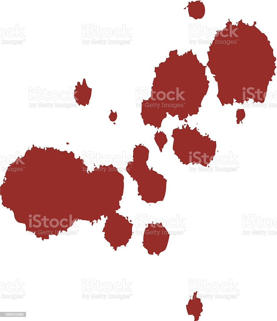 Stain royalty-free stock vector art