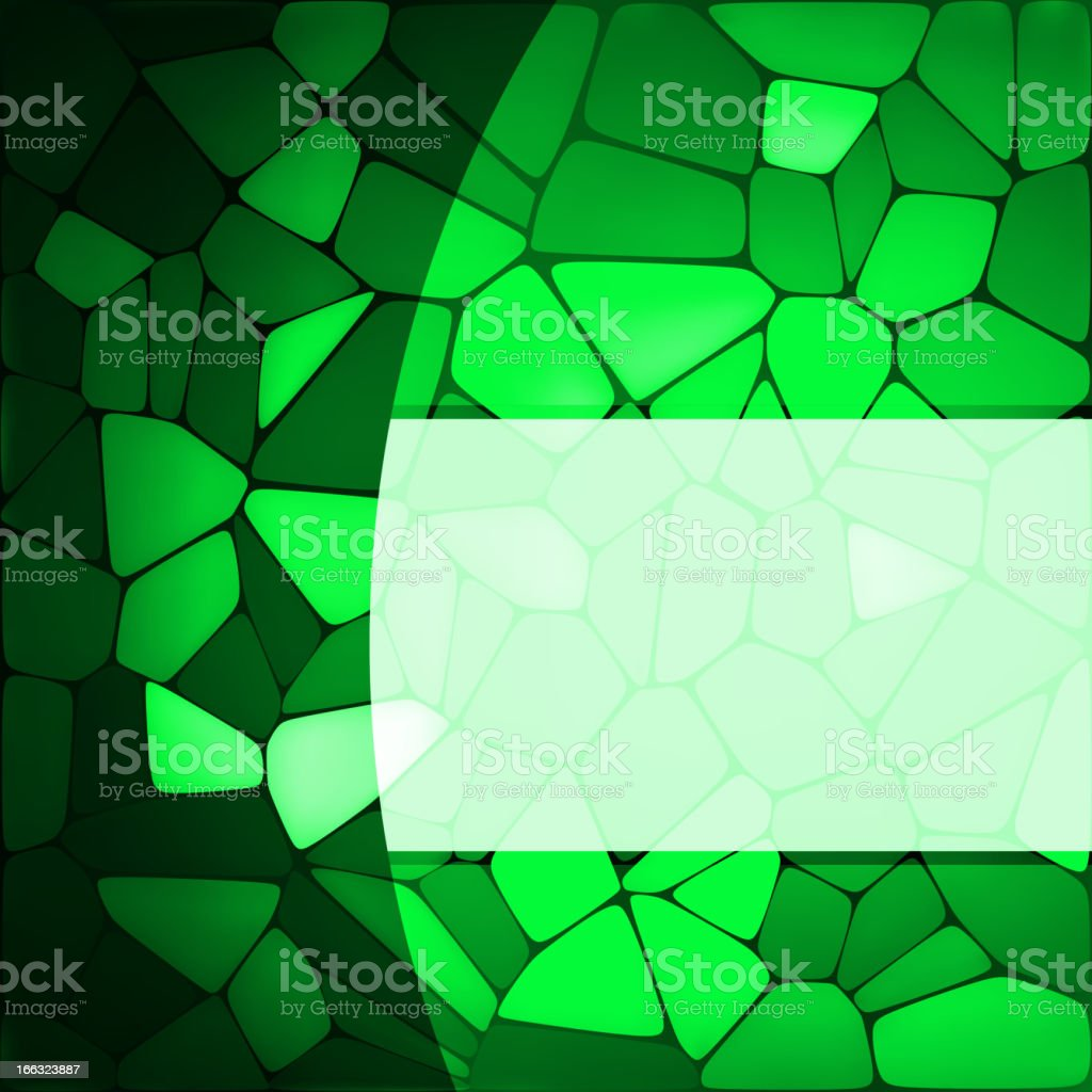 Stained glass design template. EPS 8 royalty-free stock vector art