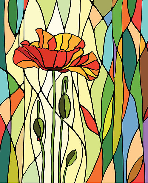 Stained Glass Clip Art : Royalty free stained glass window clip art vector images