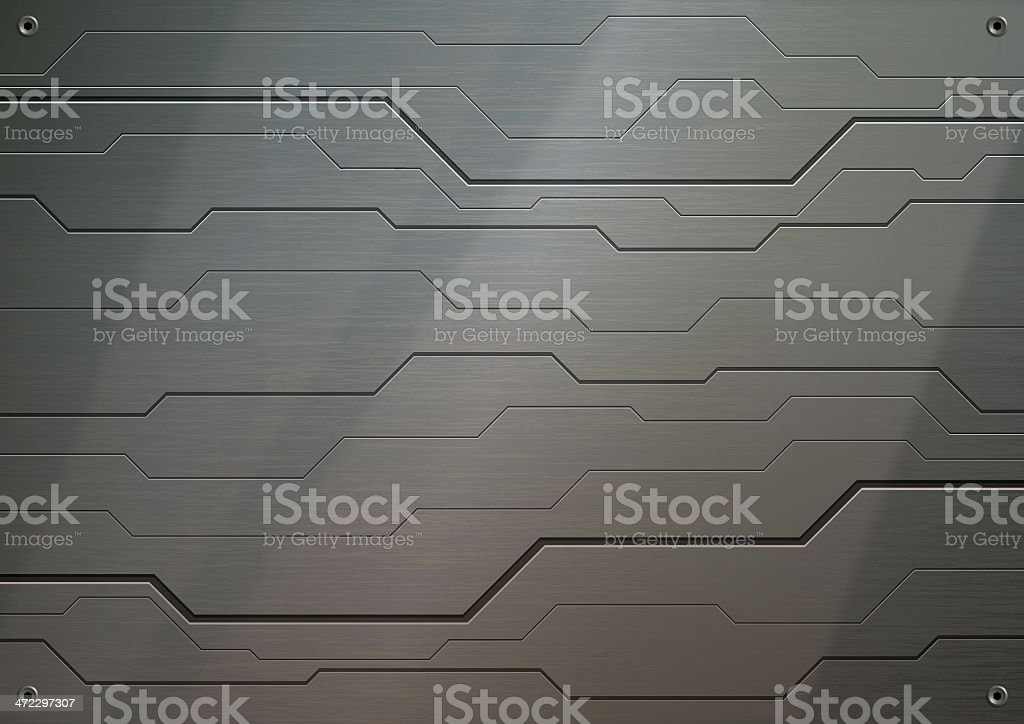 Stainless Steel Background royalty-free stock vector art