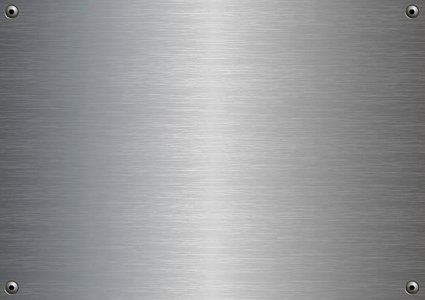 Edelstahl Stahl – Vektorgrafik