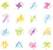 Stains Icons - Japanese Ninja Weapons