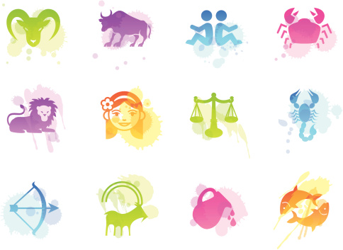 Stains Icons - Zodiac