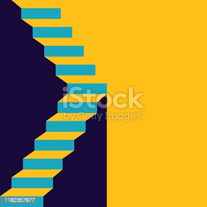 istock Stair in up 1162357677