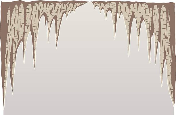 bildbanksillustrationer, clip art samt tecknat material och ikoner med stalagmite - stalagmit