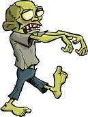 Stalking zombie