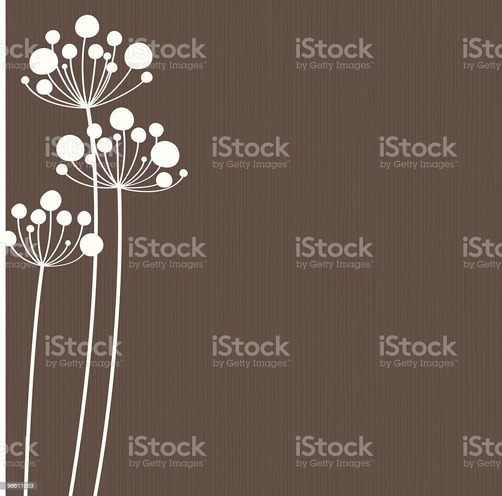Stalks royalty-free stock vector art