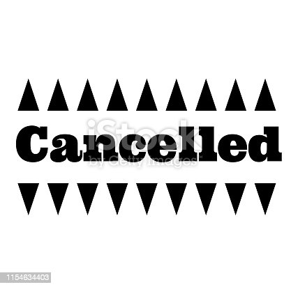 istock CANCELLED stamp on white background 1154634403