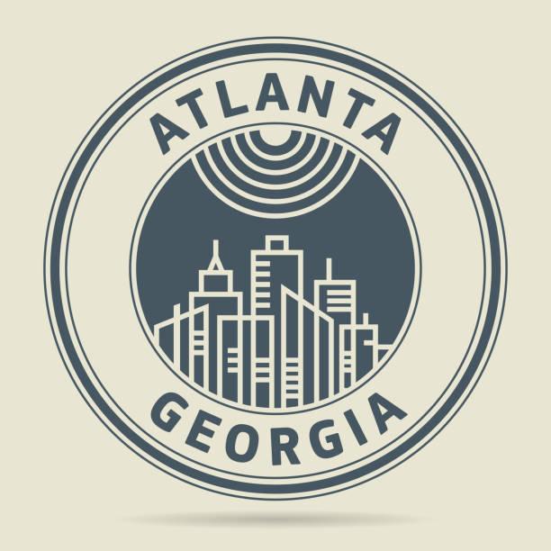Best Atlanta Skyline Illustrations, Royalty-Free Vector ...