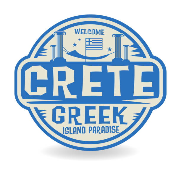 Royalty Free Crete Beach Clip Art, Vector Images ...