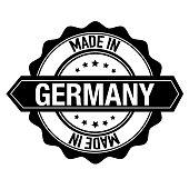 Stamp Sticker Germany