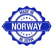 Stamp Sticker Norway