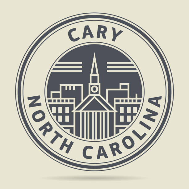 Royalty Free Cary North Carolina Clip Art Vector Images