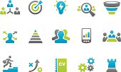 Stampico - Business strategy related icons