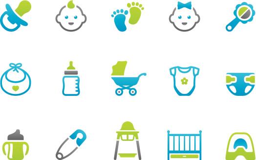 Stampico icons - Baby