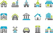 Stampico icons - Buildings