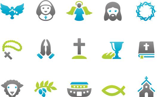 Stampico icons - Christianity