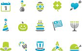 59 set of the Stampico collection - Holidays and Celebrations icons.