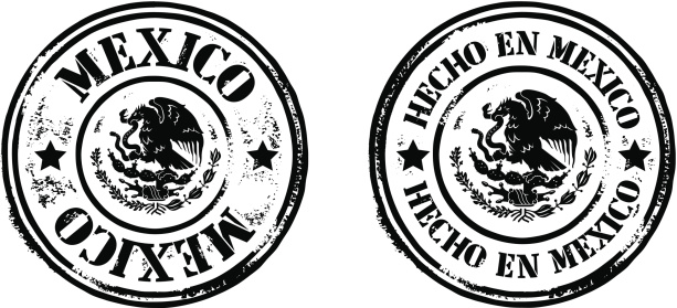 Stamps - Made In Mexico