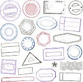 Stamps set