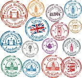Vector UK Stamps
