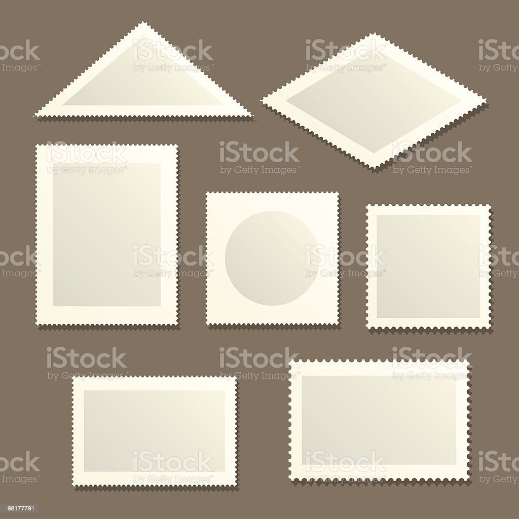 Stamps royalty-free stamps stock vector art & more images of blank