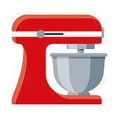 istock Stand Mixer Icon on Transparent Background 1283430474