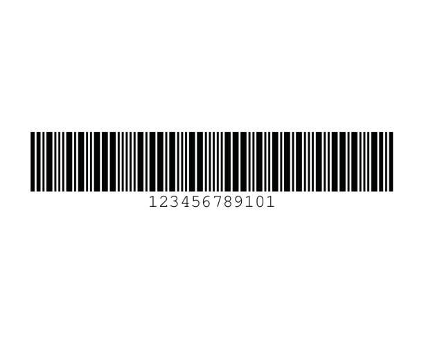 Standard 2 of 5 Barcode Standards vector art illustration