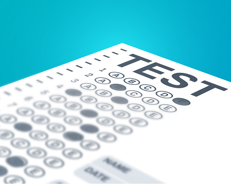 Standardized Test or Multiple Choice Exam