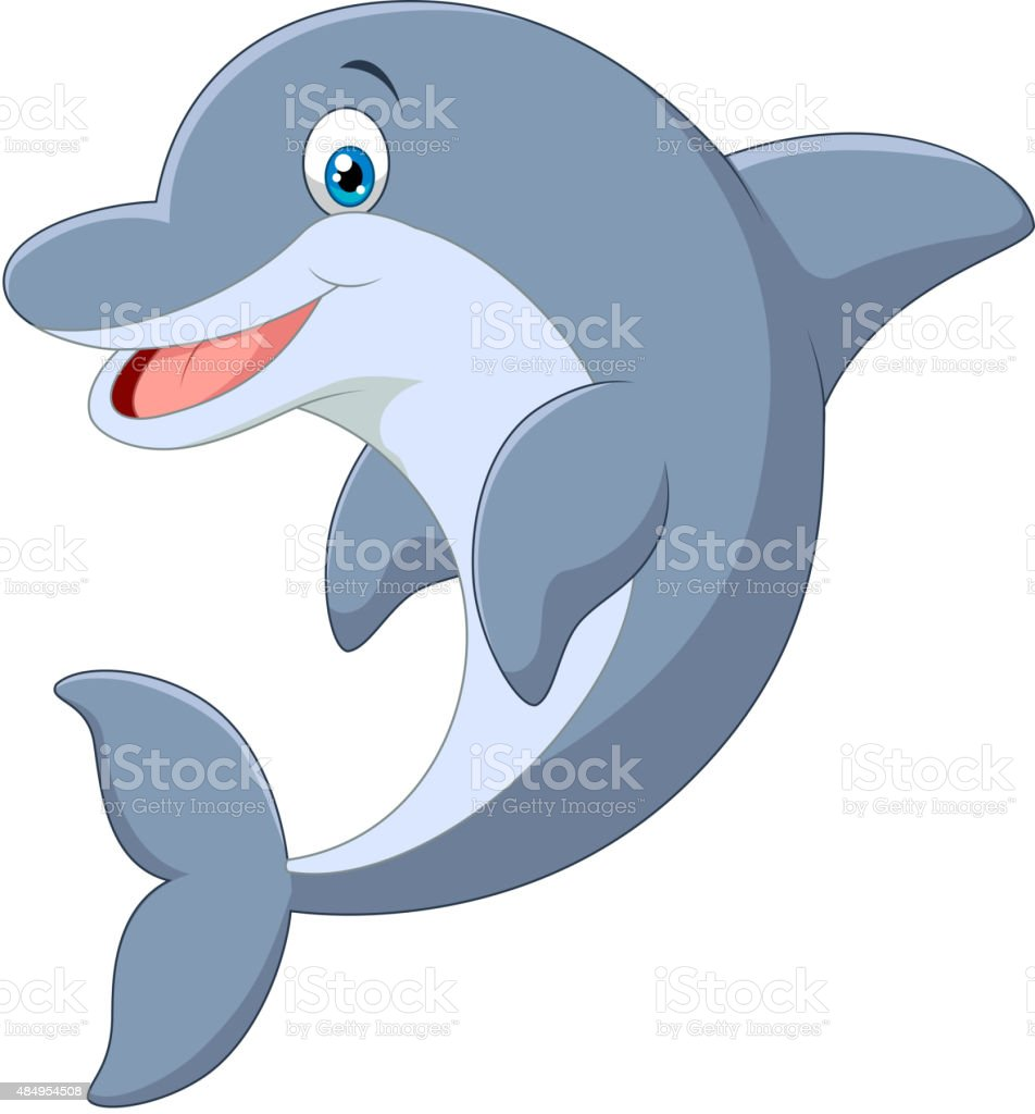 standing dolphin cartoon stock vector art more images of 2015 rh istockphoto com dolphin pictures cartoon images dolphin cartoon images black and white