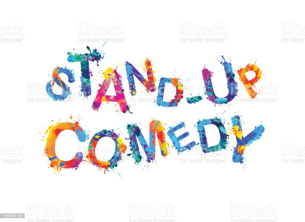 Stand up comedy clipart