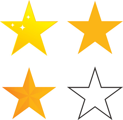 Star, a set of stars, the star icon