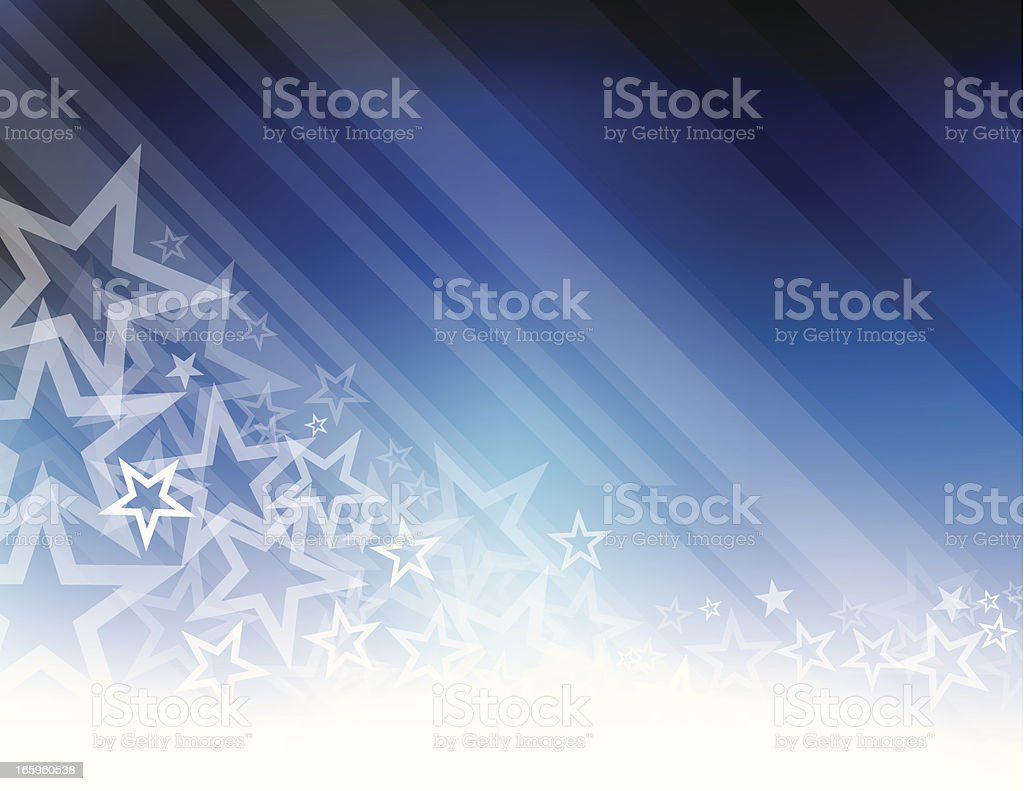 Star abstract royalty-free stock vector art