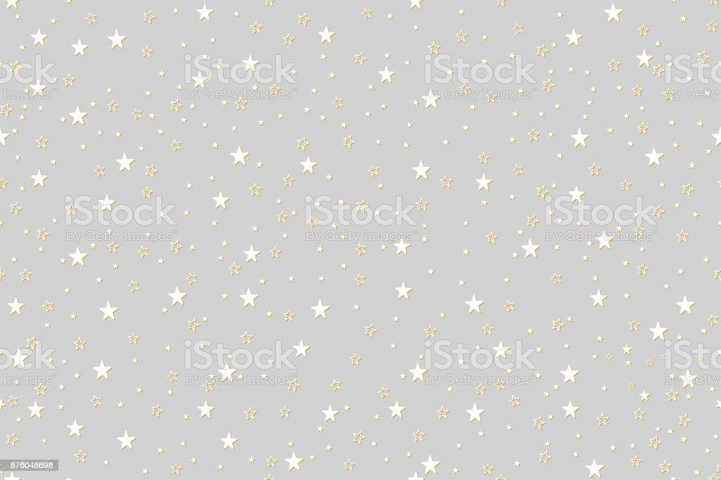 Ilustración de Fondo Estrellas Patrones Sin Costura Para La ...